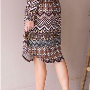 Great fall/winter dress!